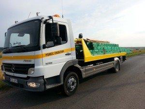 Pomoc drogowa - Transport towarów